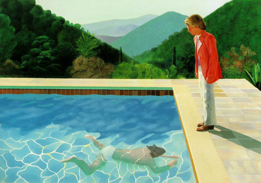 Bradford, Yorkshire, England, UK, 1937-07-9, David Hockney